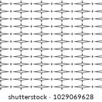 seamless vector pattern in... | Shutterstock .eps vector #1029069628
