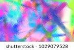 geometric mosaic pattern... | Shutterstock . vector #1029079528