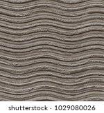 seamless grey wavy stone... | Shutterstock . vector #1029080026