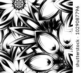 seamless floral background.... | Shutterstock .eps vector #1029087796