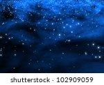 galaxy in circle shape   galaxy ...   Shutterstock . vector #102909059