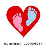 favorite baby legs  girls and... | Shutterstock .eps vector #1029095359