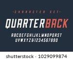 vector condensed italic dynamic ... | Shutterstock .eps vector #1029099874