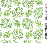 seamless floral pattern with...   Shutterstock .eps vector #1029103378