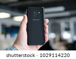 february 2018  riga   a... | Shutterstock . vector #1029114220