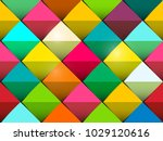 colorful seamless vector... | Shutterstock .eps vector #1029120616