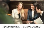 a group of successful...   Shutterstock . vector #1029129259