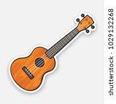 vector illustration. classical... | Shutterstock .eps vector #1029132268
