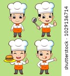 cute chef illustration