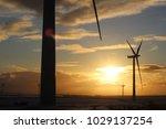 uk wind farm   Shutterstock . vector #1029137254