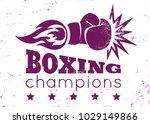 vector vintage logo for a... | Shutterstock .eps vector #1029149866