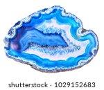 amazing white blue agate... | Shutterstock . vector #1029152683