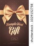 beautiful invitation or... | Shutterstock .eps vector #1029152758