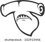 creative hammerhead shark...   Shutterstock .eps vector #102915446