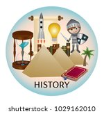history web icon | Shutterstock .eps vector #1029162010