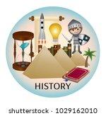history web icon | Shutterstock .eps vector #1029162010