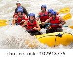 Raft Water White Whitewater...