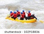 Raft Water White River Team...