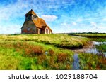 watercolour painting of st...   Shutterstock . vector #1029188704