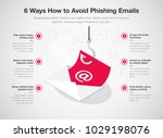 simple vector infographic for 6 ...   Shutterstock .eps vector #1029198076