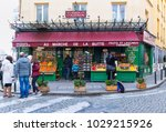 paris  france  february 17 ... | Shutterstock . vector #1029215926