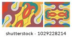 cover design template. abstract ... | Shutterstock .eps vector #1029228214