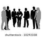 people discussing | Shutterstock . vector #10292338