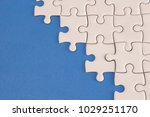 the jigsaw  puzzle | Shutterstock . vector #1029251170