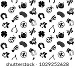 lucky charms seamless pattern... | Shutterstock .eps vector #1029252628
