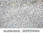 silver gray sparkle glitter for ... | Shutterstock . vector #1029254464