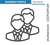 business people icon.... | Shutterstock .eps vector #1029269164