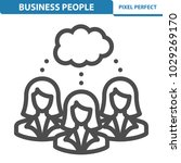 business people icon.... | Shutterstock .eps vector #1029269170