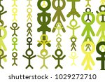 abstract sign of people or...   Shutterstock .eps vector #1029272710