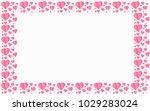valentines day vector background | Shutterstock .eps vector #1029283024