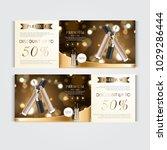 gift voucher hydrating facial... | Shutterstock .eps vector #1029286444
