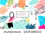 abstract universal art web... | Shutterstock .eps vector #1029288310