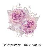 decorative decoration  paisley... | Shutterstock . vector #1029290509