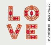love typography. love initial...   Shutterstock .eps vector #1029296110