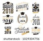graduation wishes overlays ... | Shutterstock .eps vector #1029304756