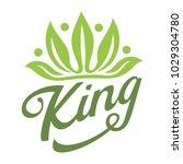 crown leaf king | Shutterstock .eps vector #1029304780
