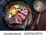 barbecue roast boar with... | Shutterstock . vector #1029310576