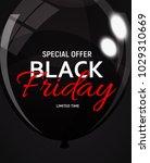 black friday sale banner... | Shutterstock .eps vector #1029310669