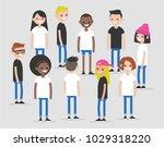 international team. modern...   Shutterstock .eps vector #1029318220