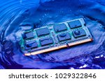 technology cyber electronic... | Shutterstock . vector #1029322846