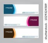 banner background.modern vector ... | Shutterstock .eps vector #1029324589