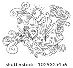 an image of a 3d entertainment... | Shutterstock .eps vector #1029325456