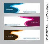 banner background.modern vector ... | Shutterstock .eps vector #1029328528