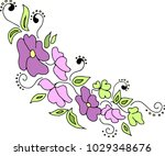 vector illustration. abstract... | Shutterstock .eps vector #1029348676