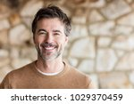 portrait of a mature man... | Shutterstock . vector #1029370459