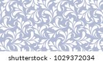 floral seamless pattern. plant... | Shutterstock .eps vector #1029372034